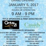 Ice Skating Returns to the Stoneham Town Common – January 5!